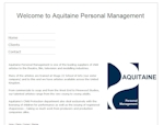 Aquitaine Personal Management - Design by EA Design Market Rasen