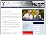 Advice on Money - UK Debt advice - Design by EA Design Market Rasen